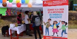 250 adolescentes de Huancavelica se sumaron  a la campaña Junt@s prevenimos el embarazo adolescente