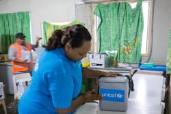 Unicef llevará 850 toneladas de vacunas Covid-19