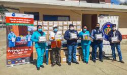 World Vision y P&G entregan 5 300 kits de protección a personal de establecimientos de salud